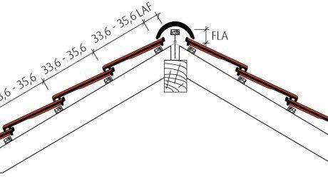 Flachziegel Stylist Beispiel Firstausbildung