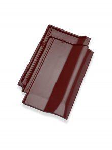 Flachdachpfanne W6v Brillanz rosso