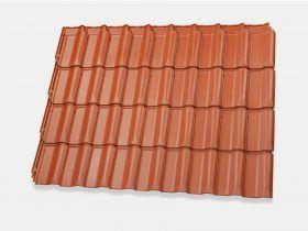 Flachdachpfanne W4v Dachziegel Dachpfanne