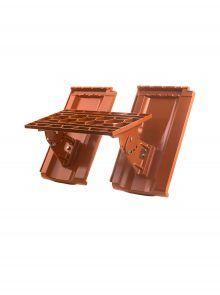 Kurzrost mit Grundpfannen für Großfalzziegel Standard Z10 - Zubehör Dachziegel