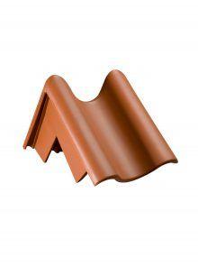 Pultdachziegel Ortgang links für Hohlfalzziegel Z5 - Zubehör Dachziegel