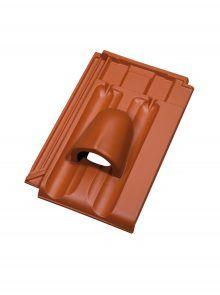 Ton-Solardurchlassziegel für Großfalzziegel Tradition - Zubehör Dachziegel