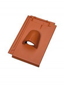 Ton-Solardurchlassziegel - für Flachziegel Stylist - Zubehör Dachziegel
