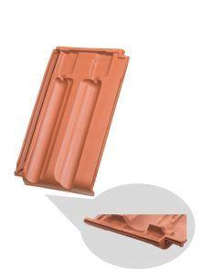 Lüfterziegel für Großfalzziegel Tradition - Zubehör Dachziegel