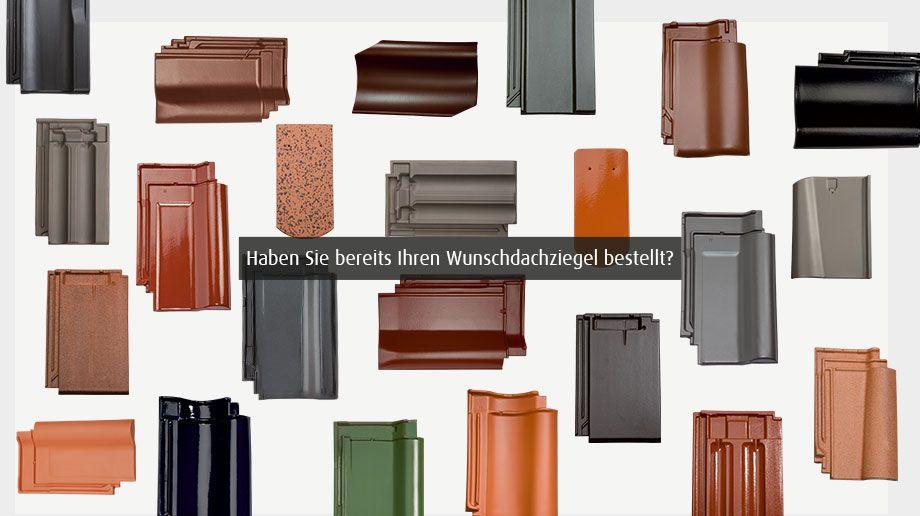 Dachziegel farben übersicht  Wir helfen Ihnen, bei der Auswahl, wenn Sie Dachziegel kaufen wollen.