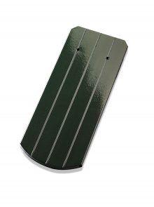 Biberschwanzziegel Bogenschnitt tannengrün