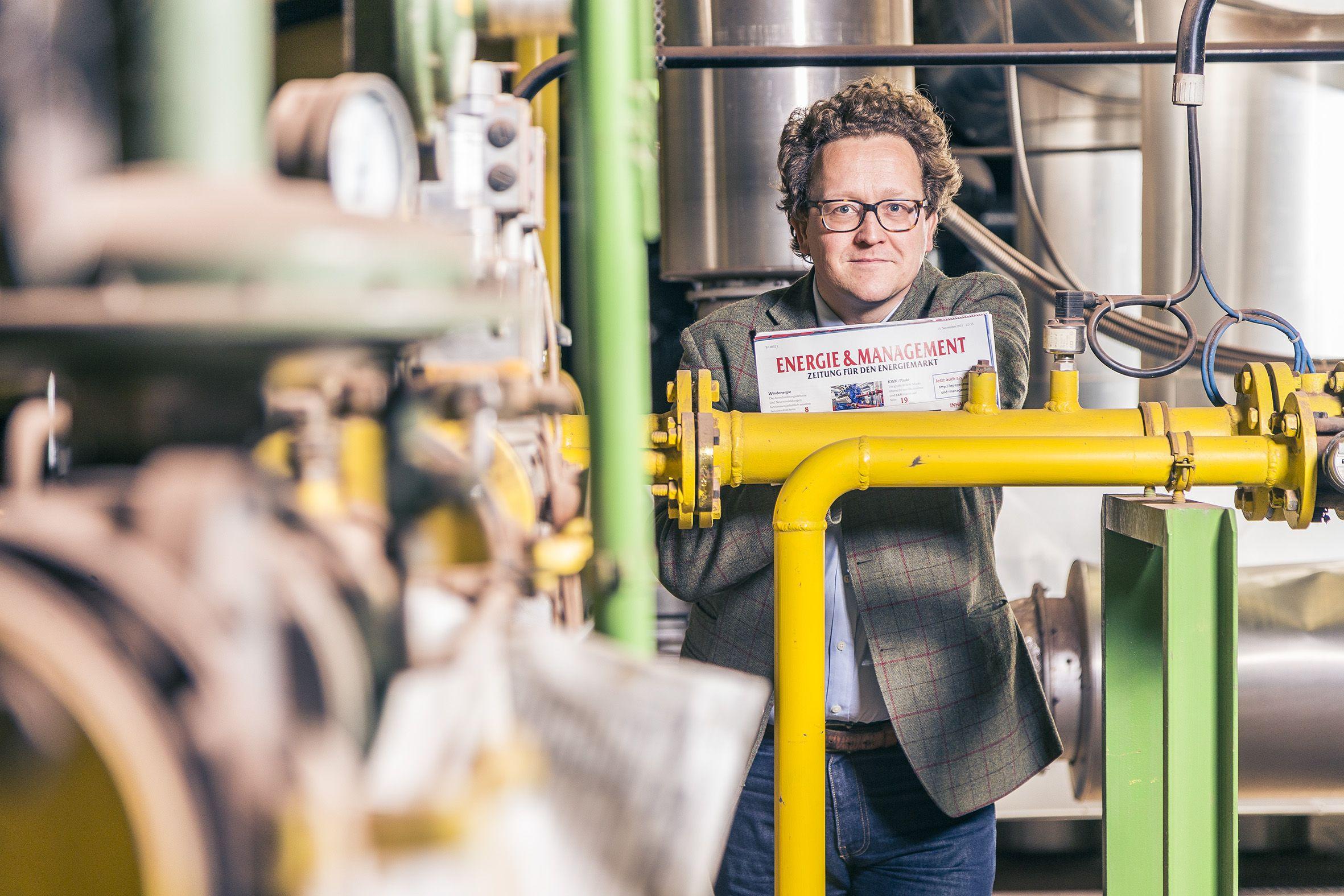 Dominic Jung- Teil der 6. Generation im Familienunternehmen Jacobi und neuer technischer Geschäftsführer der WALTHER Dachziegel GmbH