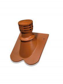 keramischer Sanitärlüfter - Zubehör für Biberschwanzziegel