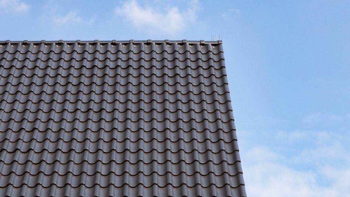 Z5 schiefergrau matt Dachziegel