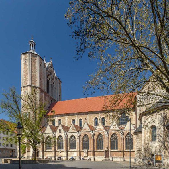Domkirche St. Blasii mit Krempziegel K1 naturrot dunkel