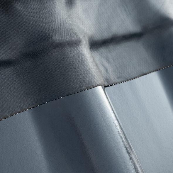 Dachanschluss mit dem Universalanschlussband JaWaFlex EPDM 300 in anthrazit