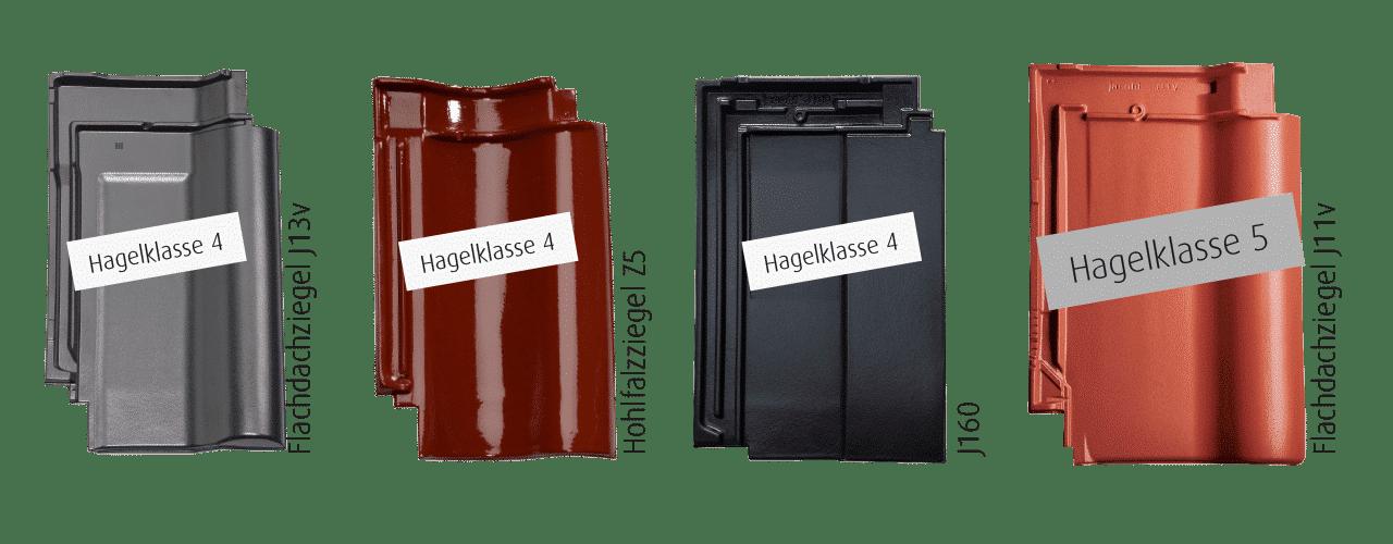Die Hagelzertifizierten Tondachziegel von Jacobi-Walther