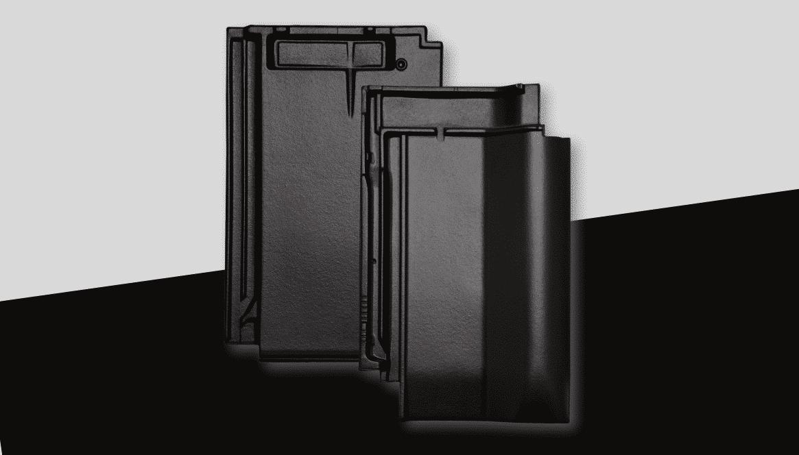 Neue Farbe samtschwarz für die Tondachziegel von Jacobi-Walther