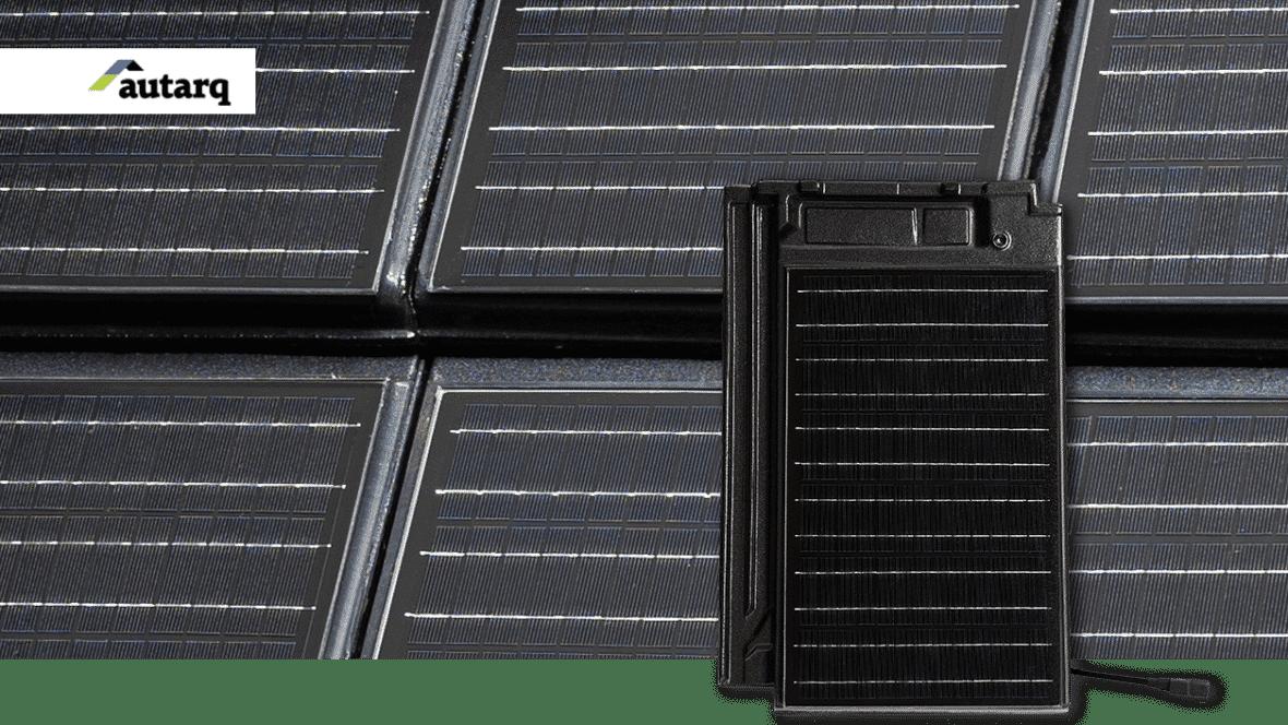 Wir verbinden Ziegel und Solar. Solardachziegel Stylist mit autarq