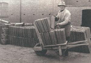 Jacobi Walther Dachziegel Ziegelsortierung 1890