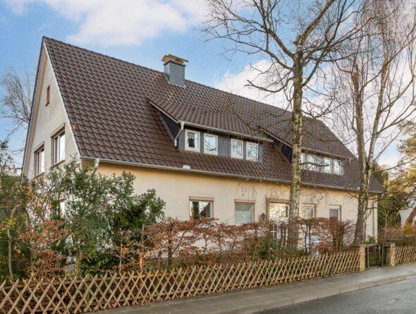 Einfamilienhaus Flachdachziegel J11v in dunkelbraun